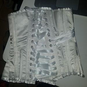 Other - White beautiful corset